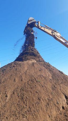 ziemia humus ziemia ekologiczna ogrodowa tranport piasek