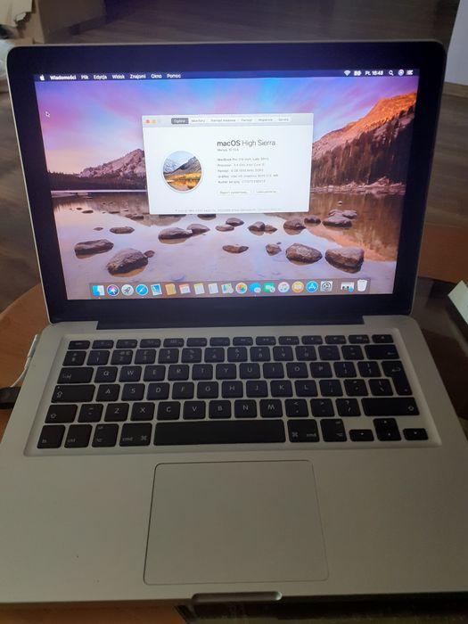 "Apple MacBook Pro 13"" A1278 i5 8 GB RAM 256 SSD intel Ozorków - image 1"