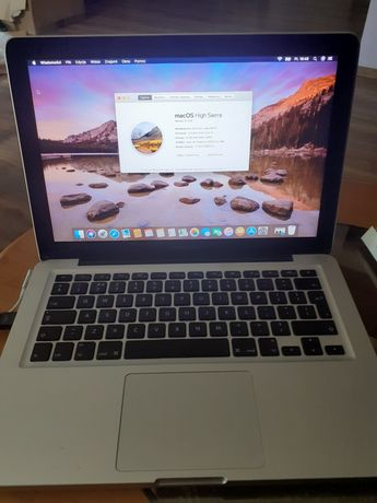 "Apple MacBook Pro 13"" A1278 i5 8 GB RAM 256 SSD intel"