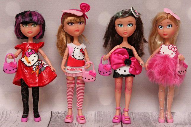 Hiszpańska lalka laleczki Famosa Club Hello Kitty zestaw 4szt