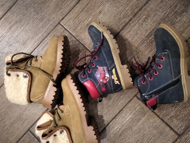 Buty zimowe 28 chłopięce