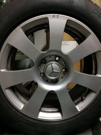 Колеса Mercedes r17 ковка оригинал с резиной Pirelli