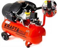 KOMPRESOR olejowy 4KM SPRĘŻARKA 50L 230V 2 tłoki 905