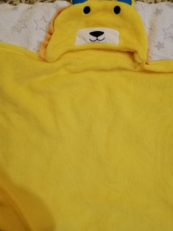 Детское полотенце. Полотенце уголок. Полотенце с капюшоном.