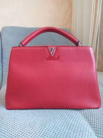 Скидка!!! Женская сумка Louis Vuitton Capucines