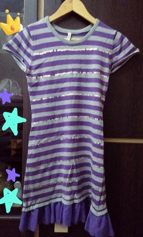 Платье трикотаж глория джинс 10 лет