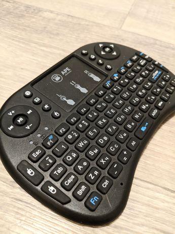 Портативная мини клавиатура с тачпад новая беспроводная Bluetooth