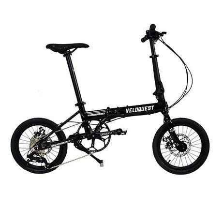 Rower składany ekstra lekki Veloquest czarny