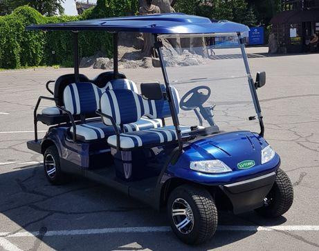 Гольфкар LT-A627.4+2. Электрические гольф-кары в Украине!