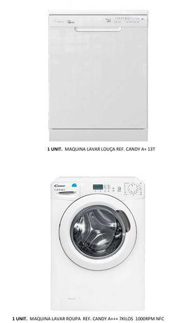 Maquina de lavar loiça T13  e Maquina lavar roupa 7 Kgs