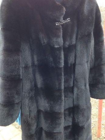 Норковая шуба норка manzari как Blackglama 42/44