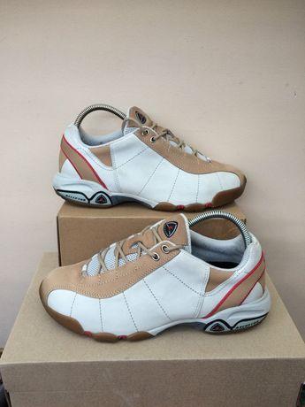 Ecco Merrell кожаные  кроссовки кеды  41. 42р