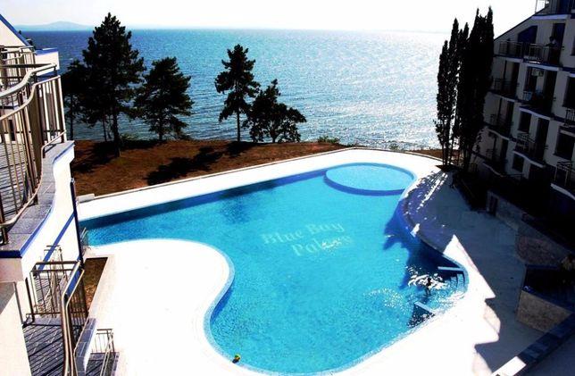 сдам студию комплекс Blue Bay Palace море, бассейн Поморье,юг Болгарии