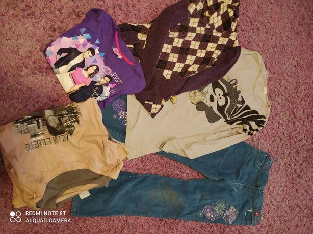 Zestaw ubrań młodzieżowych rozmiar 140 -146