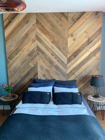 Stare drewno deski ze stodoły rustykalne na ścianę meble, stół,lustro,