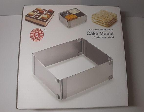 Форма раздвижная трансформер для салата, десерта,торта