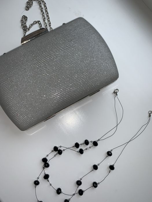 Вечерний клатч + бусы в подарок Белики - изображение 1