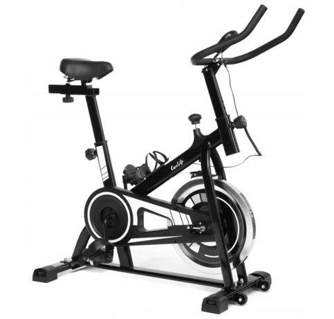 Rower stacjonarny spinningowy fitness treningowy NOWY