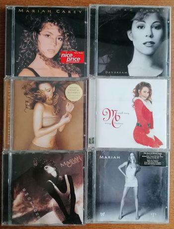 6 Cd's Mariah Carey