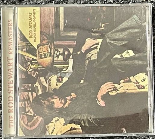 Rod Steward - Never A Dull Moment CD