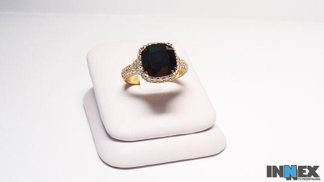 Nowy pozłacany pierścionek 1914B R11