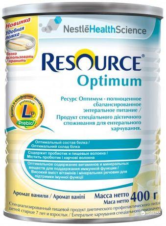 Смесь Nestle Resource Optimum с 7 лет 400 г