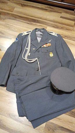 Mundur Sierżanta LWP z czapką