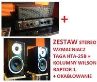 WZMACNIACZ Taga HTA-25B + Kolumny WILSON Raptor 1