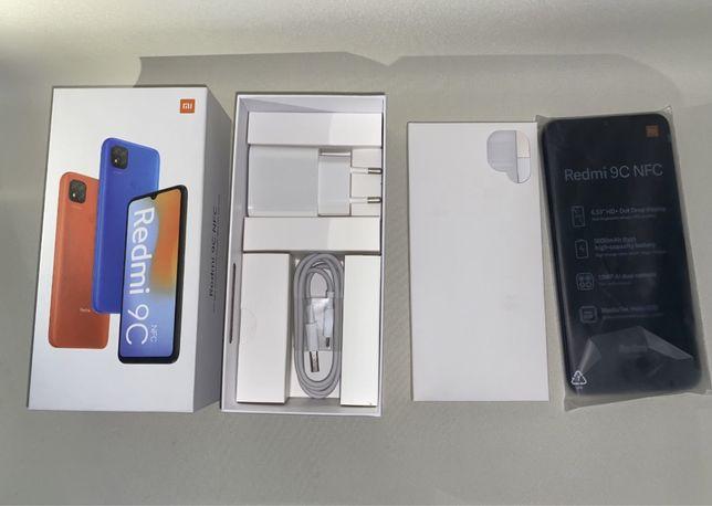 Xiaomi Redmi 9c с NFC 3/64гб Grey, Global version , Новые