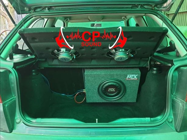 Montagem e venda de Subwoofer Amplificador Auto Radio Colunas em carro