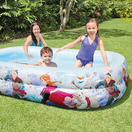 Intex 58469 детский надувной бассейн Холодное сердце