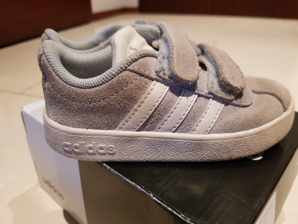 Buty, adidasy dziecięce Adidas 23, niebieskie