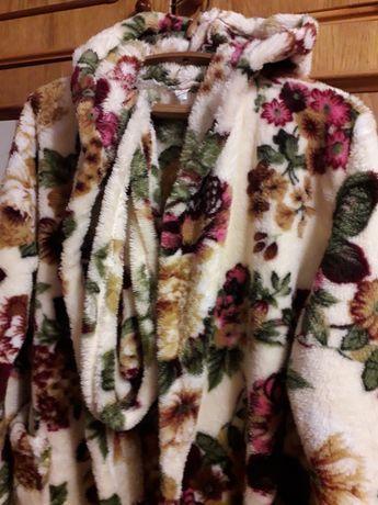 Домашний махровый халат