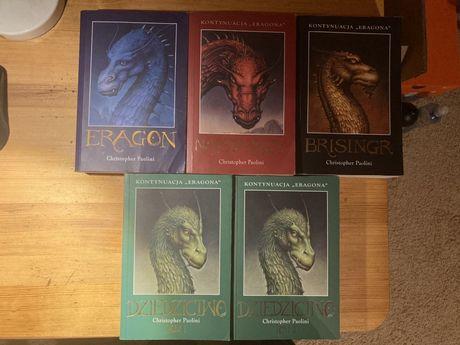 Książki Eragon Christopher Paolini Saga wszystkie części