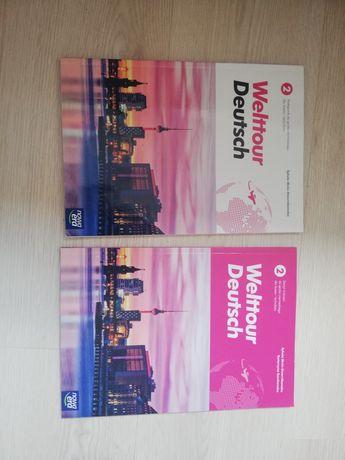 Welttour Deutsch niemiecki 2 podręcznik i ćwiczenia