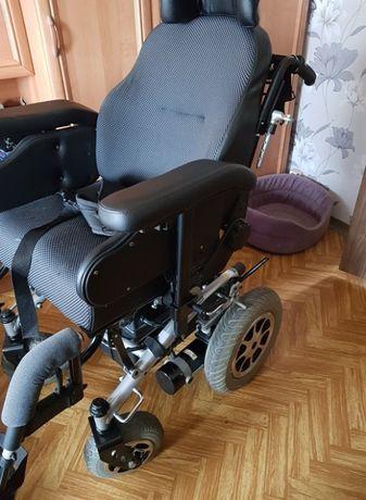 Elektryczny wózek inwalidzki. Mało używany. Stan idealny!!