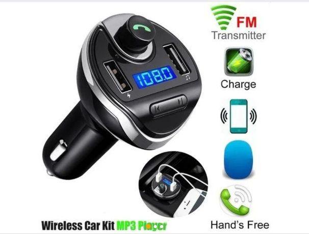 FM-трансмиттер модулятор T20 зарядное устройство USB, Bluetooth
