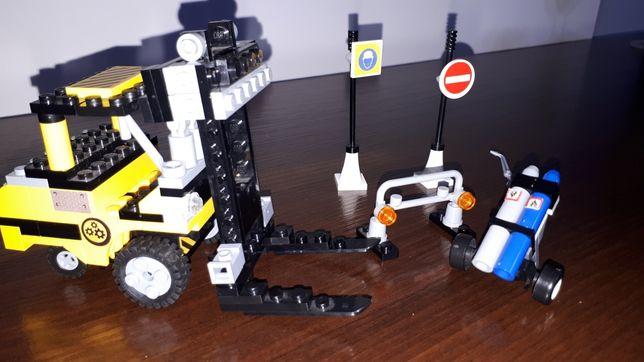 COBI wózek widłowy