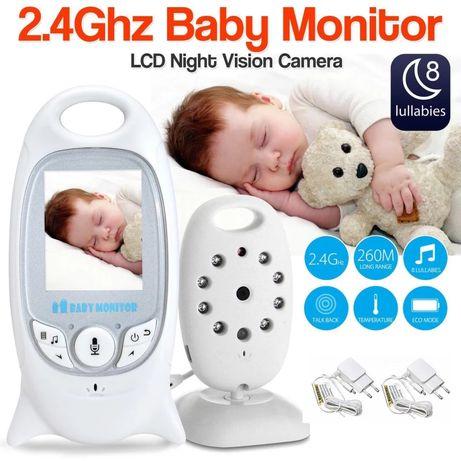 Intercomunicador - Câmera de vigilância bebé - Novo