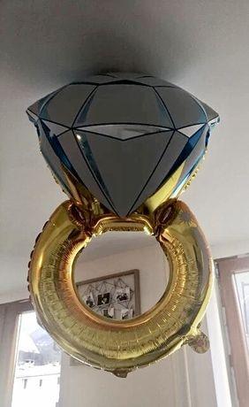 Шарик фольгированный кольцо девичник большой шар надувной НОВЫЙ