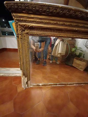 Espelho antigo para restaurar