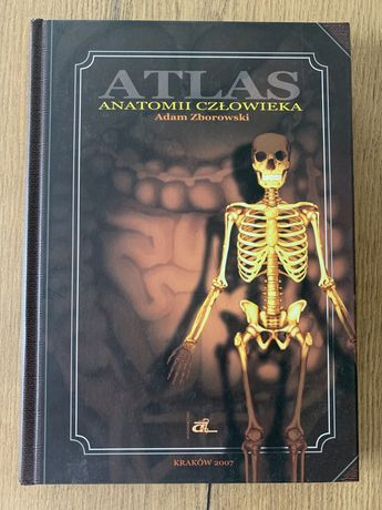 Atlas anatomii człowieka Adam Zborowski