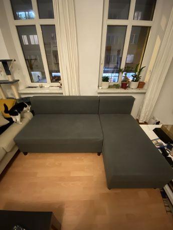 Sofa lóżko kanapa narożnik ikea ANGSTA