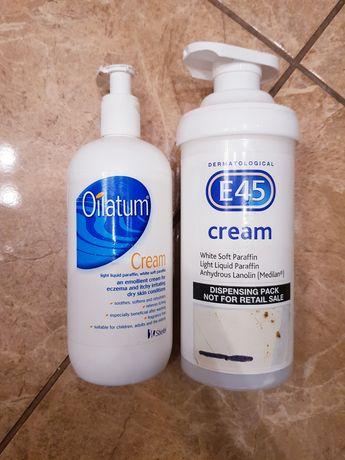 Oilatum i E45 cream