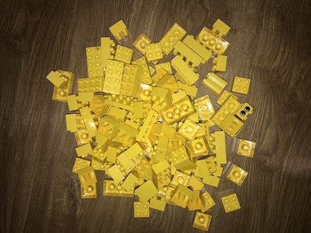 Lego Duplo kolor zółty 2x2 i 2x4