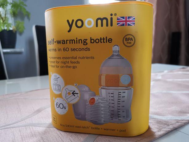 Yoomi- Zestaw, samopodgrzewająca butelka.