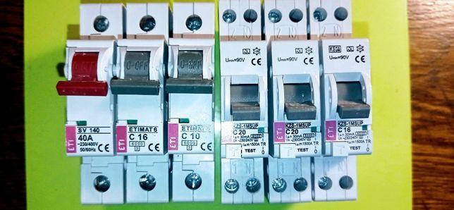 Автоматические выключатели ETI ( Словения)