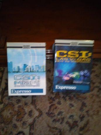 Lote 28 DVDs CSI/outros.novos