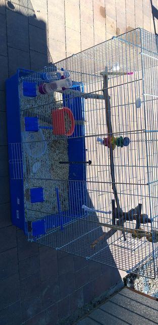 Duża  klatka dla papugi 80szer,80wysokosc