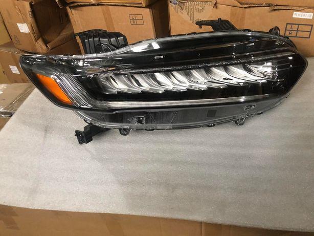 Honda Accord 2018 2019 фары, фонари, капот, крышка багажника, крыло